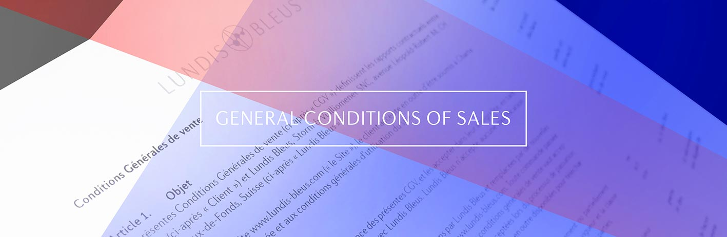 General Conditions of Sales