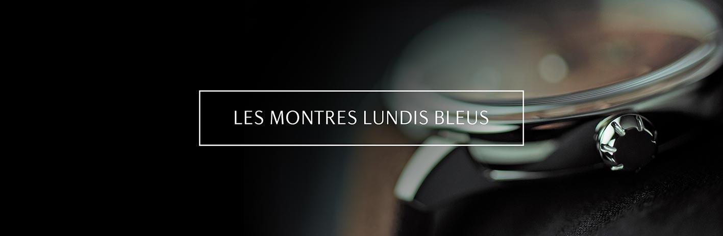 Spécifications sur les montres Lundis Bleus